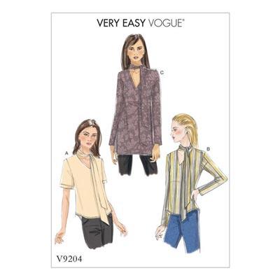 Top, Vogue 9204 | 32 - 40