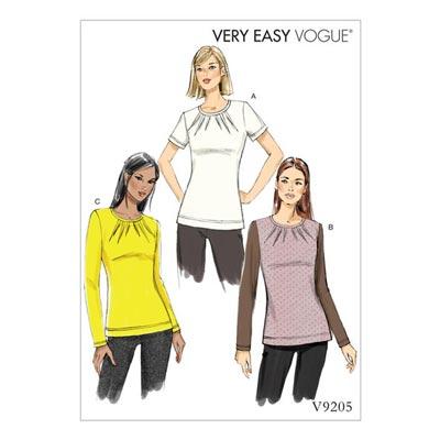 Top, Vogue 9205 | 32 - 40