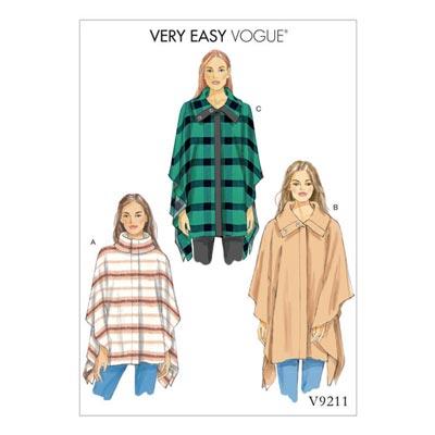 Cape, Vogue 9211 | 32 - 40