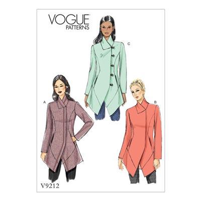 Jacke, Vogue 9212 | 32 - 40