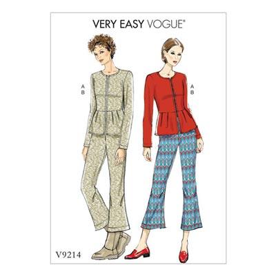 Jacke, Vogue 9214 | 32 - 40