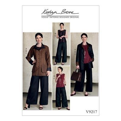 Jacke, Vogue 9217 | 42 - 50