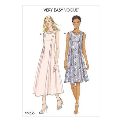 Kleid, Vogue 9236 | 32 - 40