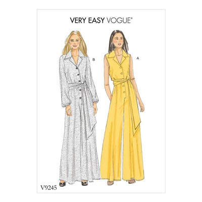 Jumpsuits, Vogue 9245 | 40 - 48
