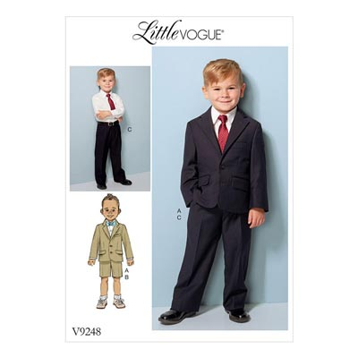 Kinderanzug, Little Vogue 9248 | 122 - 134