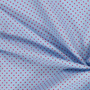 Tecidos de algodão pontilhados