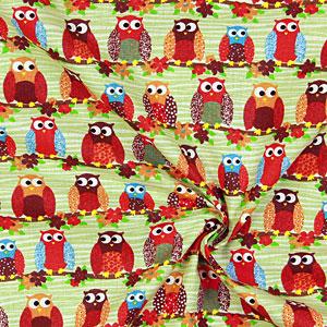 Tecidos de algodão com motivos de animais