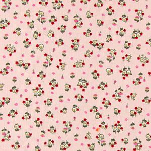 Recién llegado: maravillosa pana de cordoncillos finos con pequeñas florecitas