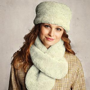 Den nya vintertrenden: imiterad päls