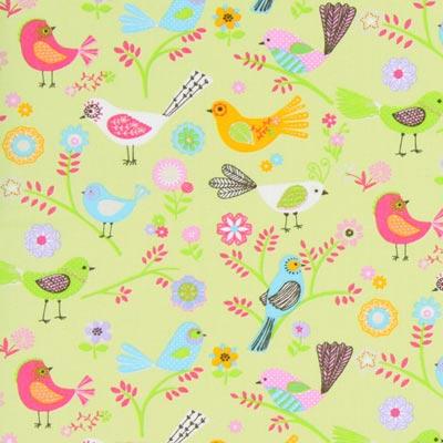 Cotton Stockholm Bird 2