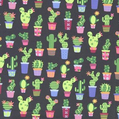 Cretonne Cactussen