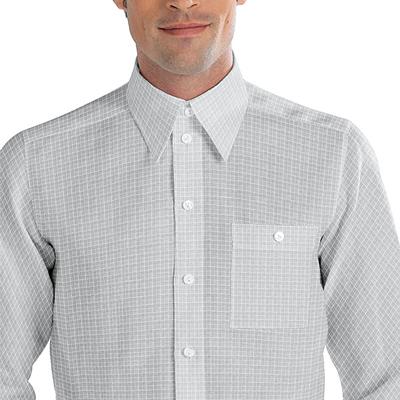 Tkanina koszulowa w kratke Kyoto 1