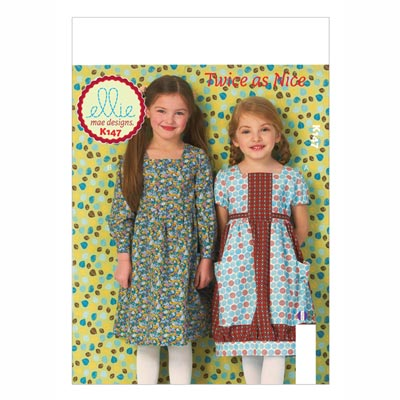 Kinderkleid, KwikSew 0147 | 104 - 134
