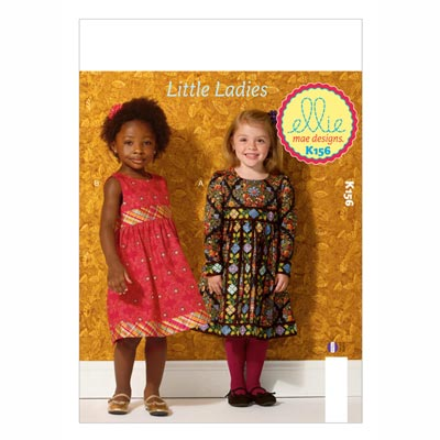 Kinderkleid, KwikSew 0156 | 98 - 140