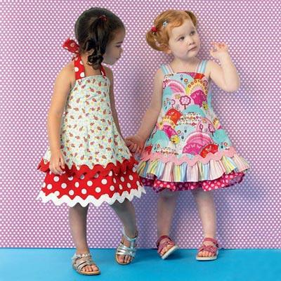 Kinderkleid, KwikSew 0175 | 80 - 104