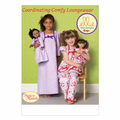 Nachthemd | Pyjama, KwikSew 0191 | 98 - 140