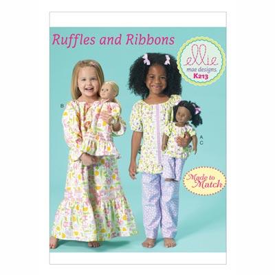 Kinderschlafanzug, KwikSew 0213 | 98 - 140