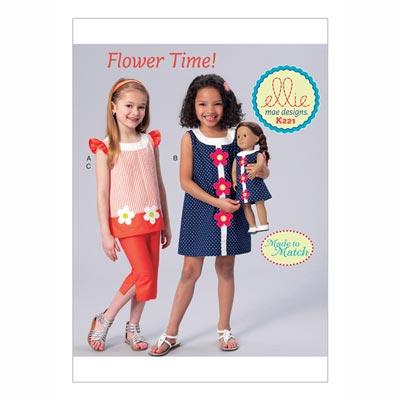 Kinderkleid, KwikSew 0221 | 98 - 140