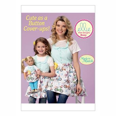 Schürzen für Kinder | Mädchen | Puppen, KwikSew 0223 | S - L
