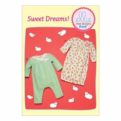 Babystrampler, KwikSew 0226 | 62 - 86