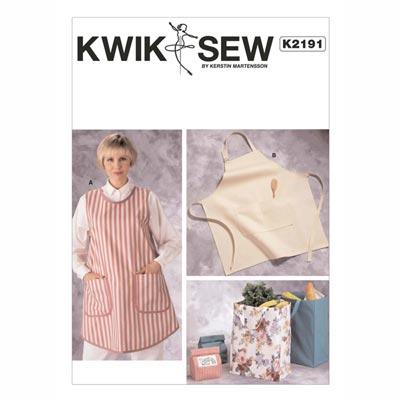 Schürze / Taschen, KwikSew 2191