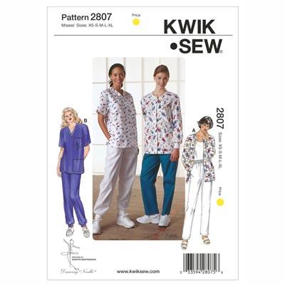 Arbeitskombination | Kittel, KwikSew 2807 | XS - XL