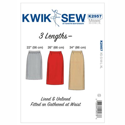 Rock, KwikSew 2957 | XS - XL