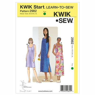 Kleid, KwikSew 2982 | XS - XL
