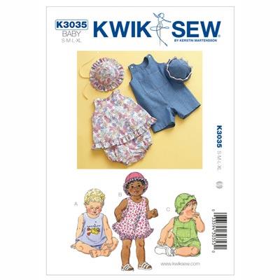 Strandmode für Kinder, KwikSew 3035 | 62 - 80