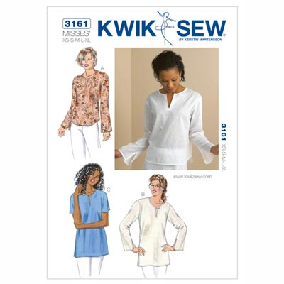 Shirt | Tunika, KwikSew 3161 | XS - XL