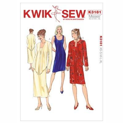 Kleid | Jacke, KwikSew 3181 | XS - XL