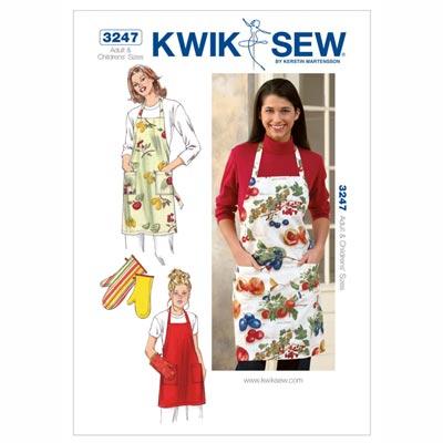 Schürze & Ofenhandschuh, KwikSew 3247