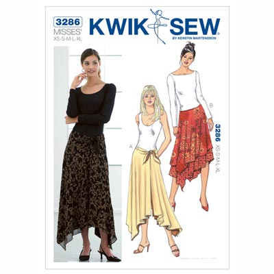 Rock, KwikSew 3286 | XS - XL