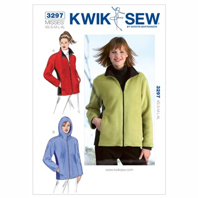 Jacke, KwikSew 3297 | XS - XL