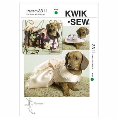 Hundejacke / Kleid / Tragetasche, KwikSew 3311