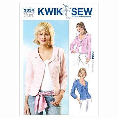 Jacke, KwikSew 3334 | XS - XL