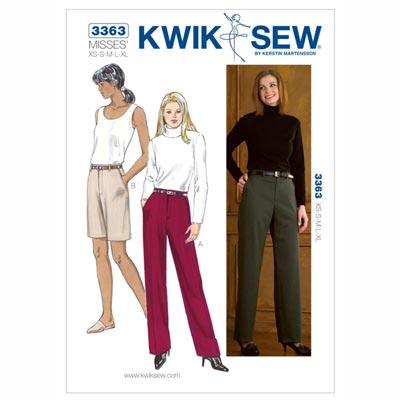Hose | Shorts, KwikSew 3363 | XS - XL