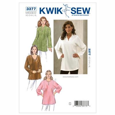 Tunika, KwikSew 3377 | XS - XL