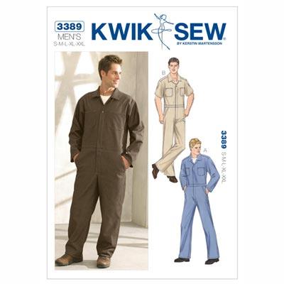 Herren Overall, KwikSew 3389 | S - XXL