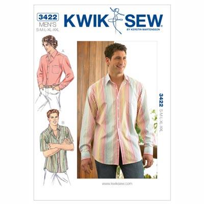 Herrenhemd, KwikSew 3422 | S - XXL