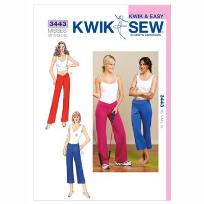 Sporthose, KwikSew 3443 | XS - XL