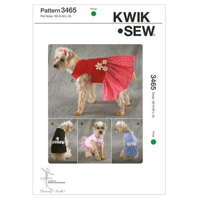 Hundeshirt | Kleidchen, KwikSew 3465 | XS - XL