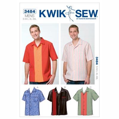 Herrenhemd, KwikSew 3484 | S - XXL