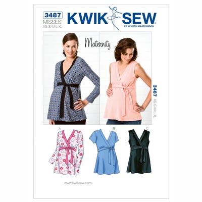 Umstandsshirt, KwikSew 3487 | XS - XL