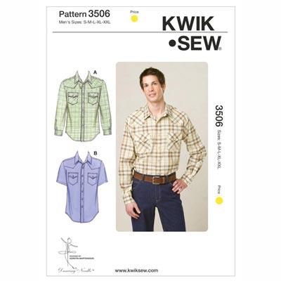 Hemd, KwikSew 3506 | S - XXL