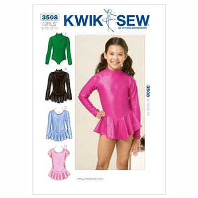 Body für Mädchen, KwikSew 3508 | 128 - 152