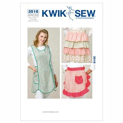 Schürzen, KwikSew 3518 | S - L