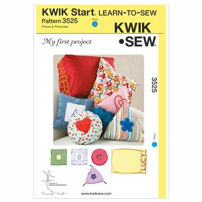 Kissen & Kissenhüllen (Nähanfänger), KwikSew 3525