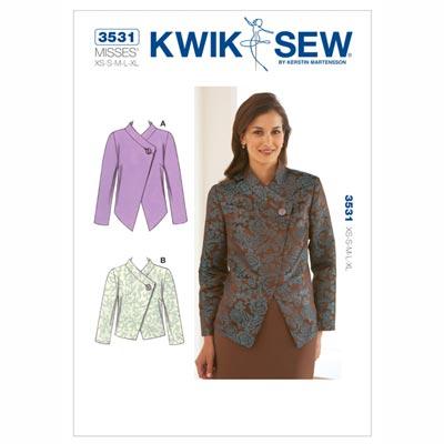 Jacke, KwikSew 3531 | XS - XL