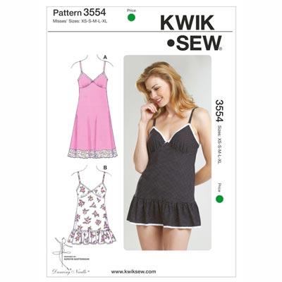 Kleidchen | Slip, KwikSew 3554 | XS - XL